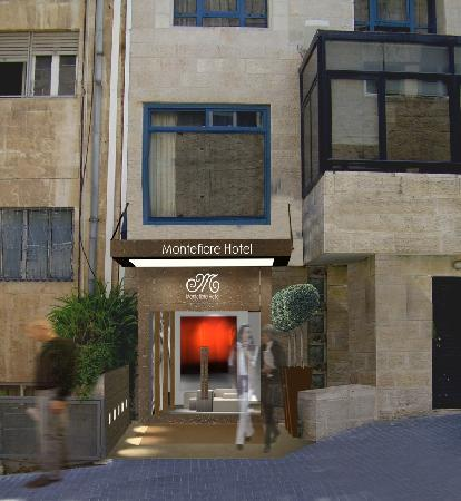 Montefiore Hotel: New entrance