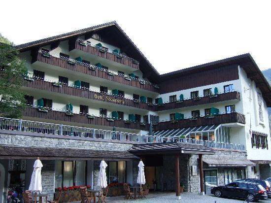 Hotel Scesaplana: Aussenansicht