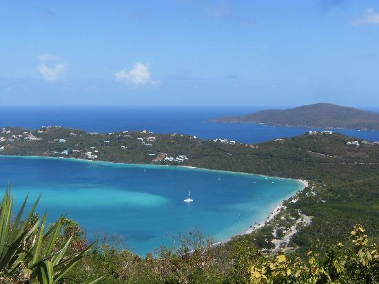 Marriott's Frenchman's Cove: Magen's Bay from Drake's Seat