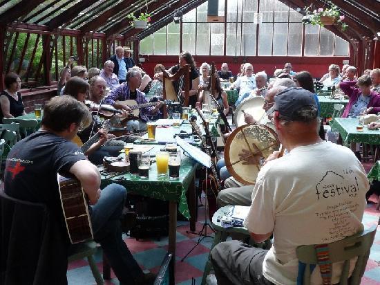 Ormidale hotel - Arran folk festival