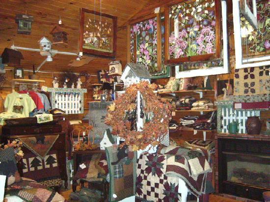 Sparta, Wisconsin: Grapevine Gift Shop
