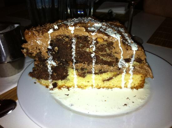Eat Me Cafe & Social : chocolate marble cake