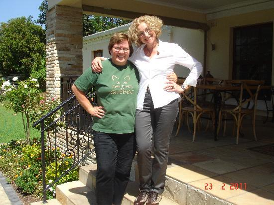 Blaauwheim Guest House: Jivka from Germany