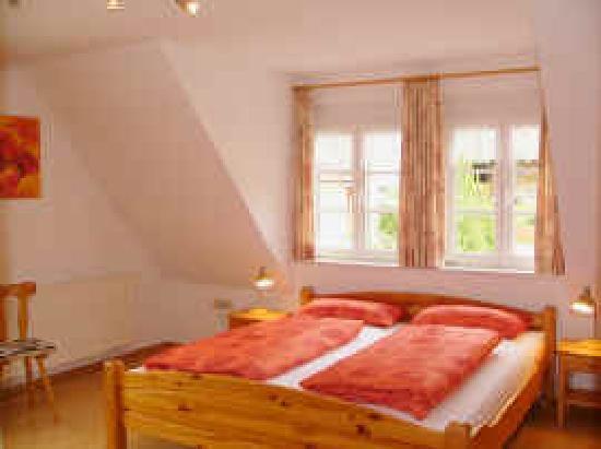Gasthaus Kranz: Schlafzimmer FeWo 3