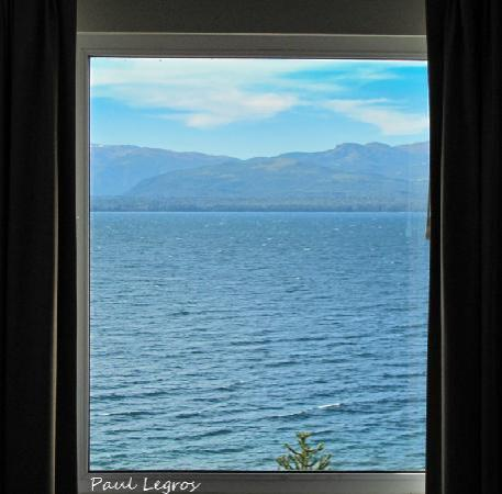 Hotel Tirol Bariloche: View from our room