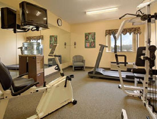 New Victorian Inn & Suites Sioux City: Exercise Room