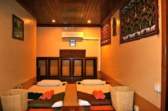 Shining Angkor Boutique Hotel: Massage Room