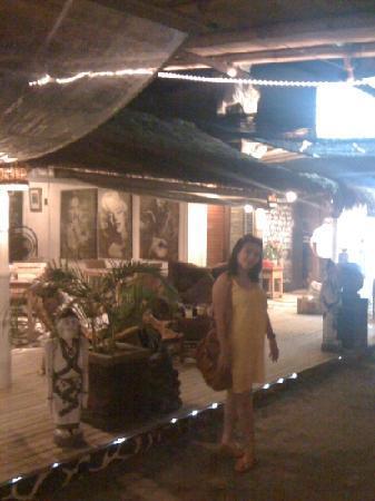 Scallywags Resort: Mrs Yuda.. BBQ at Scallywags