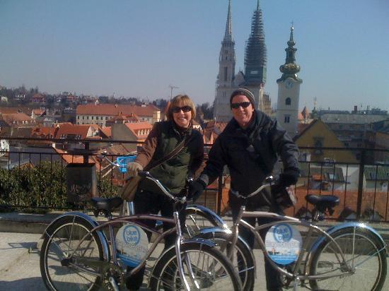 Blue Bike Zagreb Cycling Tours: Max & Deborah
