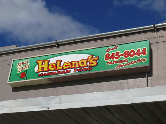 Helena S Hawaiian Food Honolulu Menu Prices
