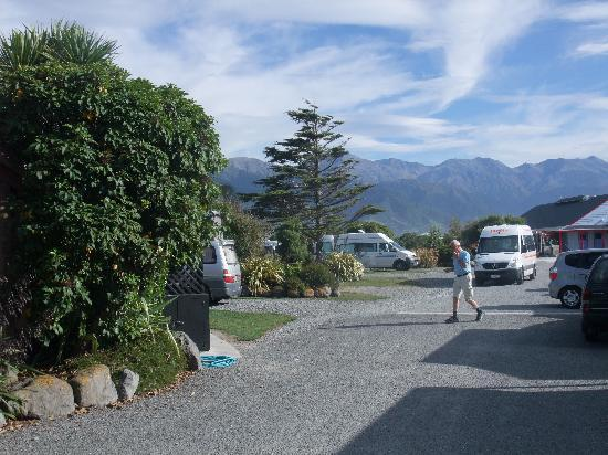 Kaikoura Top 10 Holiday Park: Camp Site and Pitches