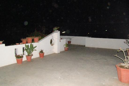 Udaipur Bed n Breakfast: terrace