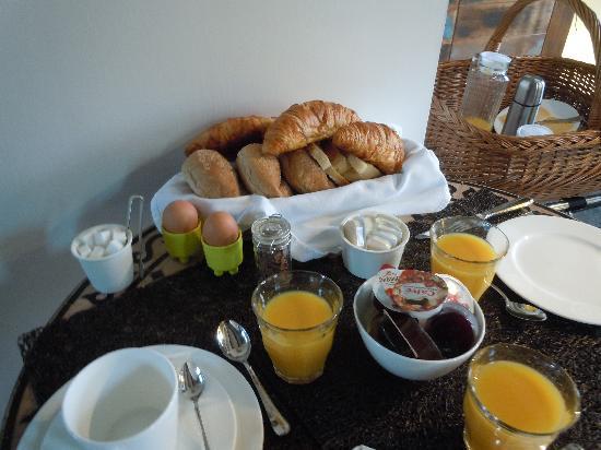 Frederik Park House: Un très bon petit déjeuner, pour une très bonne journée