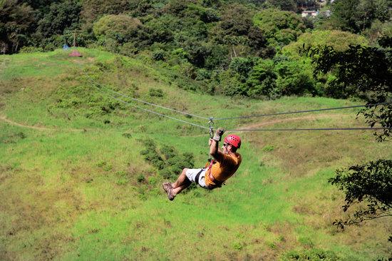 Tropical Adventures : Big Mango Zip Line