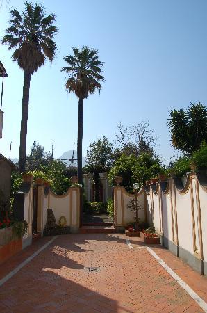 B&b Villa Le Palme : parco