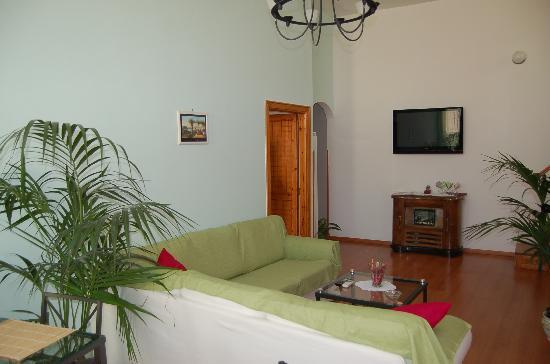 B&b Villa Le Palme : zona comune