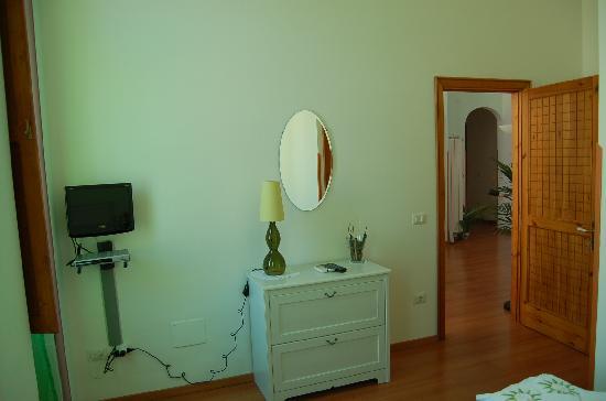 B&b Villa Le Palme : camera verde