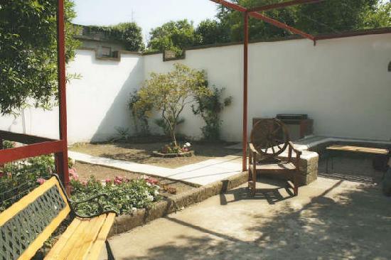 B&b Villa Le Palme : giardino