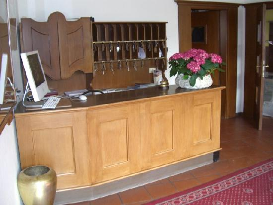 Hotel Sparerhof: Front Desk at the hotel