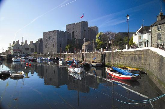 Isla de Man, UK: Castle Rushen, Castletown
