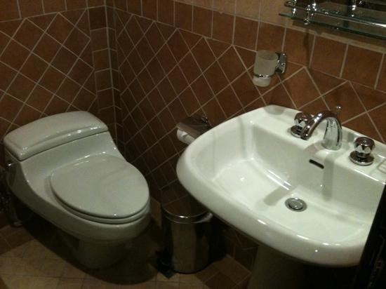 Brzeen Hotel : toilet