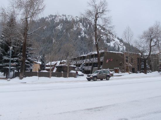 Aspen Mountain Lodge: Blick von der Main Street