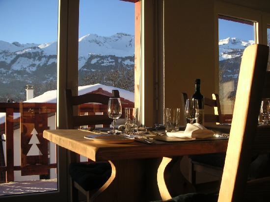 Chalet des Alpes: View
