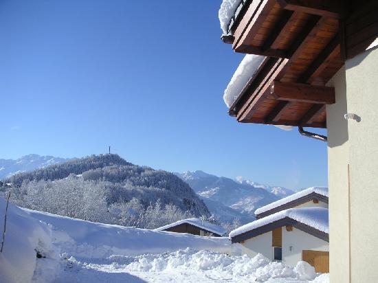 Chalet des Alpes: Mountain View