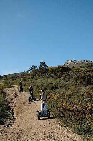 Silencetour Segway Nature Guided Tours: Part of our group