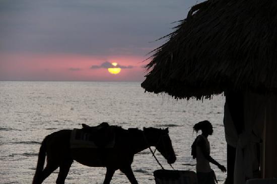 Beaches Negril Resort & Spa : beautiful sunset