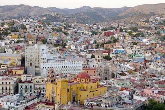 Casa Zuniga B&B: View of Guanajuato