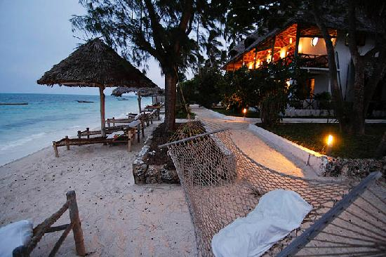Blue Oyster Hotel: Sit and read a book on the hammock overlooking the turquoise ocean.