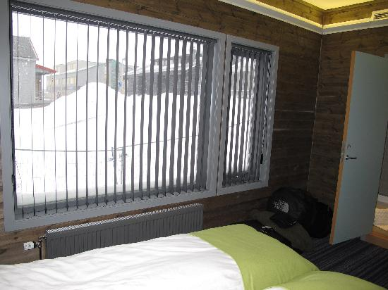 Svalbard Hotel: View from the room to main street