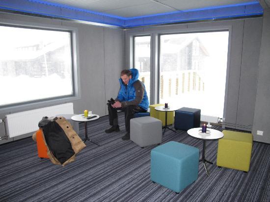 Svalbard Hotell: Lobby area