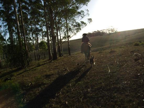 El Charabon: A beauriful sunset ride