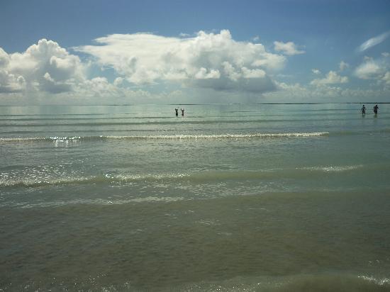Maceio, AL: Angra di Ipioca- Marea baja