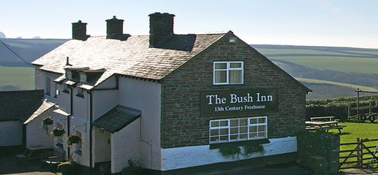 ‪‪Morwenstow‬, UK: The Bush Inn‬