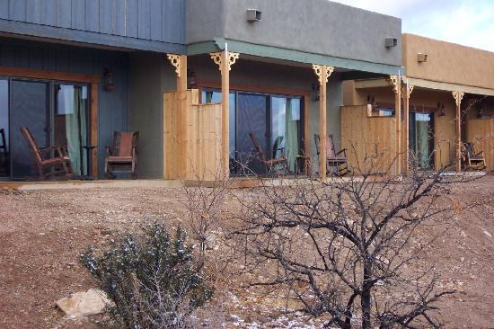Tombstone Monument Ranch: view of terrace
