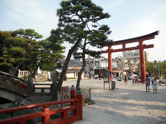 Kamakura, Japan: Torii