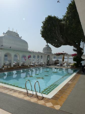 Taj Lake Palace Udaipur: piscine