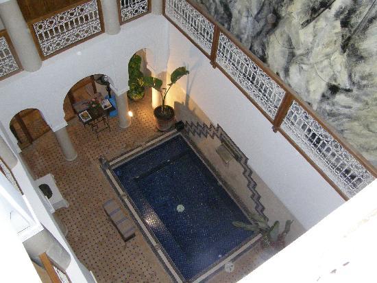 Le Riad Chalymar: la piscine