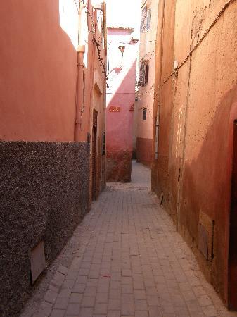 Le Riad Chalymar : la ruelle du riad