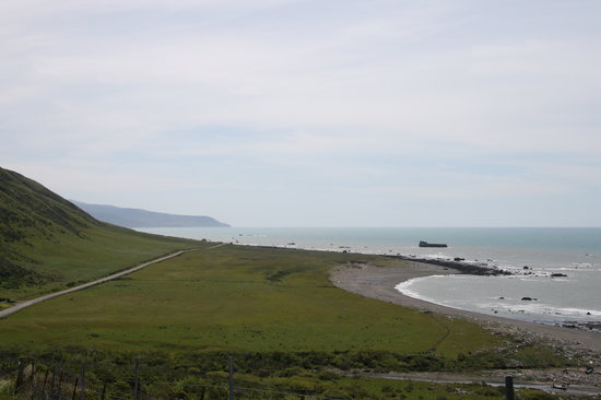 Ferndale, Californie : Loat Coast Drive - Cape Mendocino and Steamboat Rock