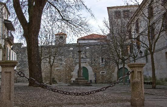 La Coruña, Spagna: La Plaza de las Barbaras en la Ciudad Vieja