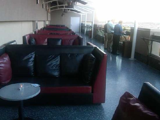 Pechanga Resort and Casino: Outside terrace of Silk at Pechanga