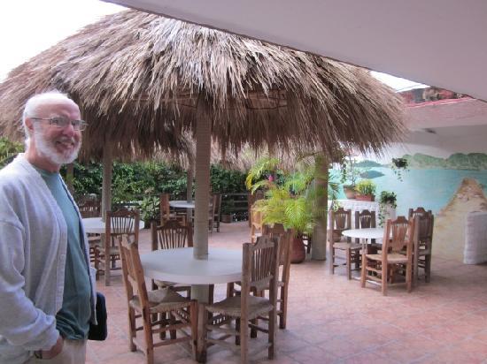 Hotel Delfin: the restaurant
