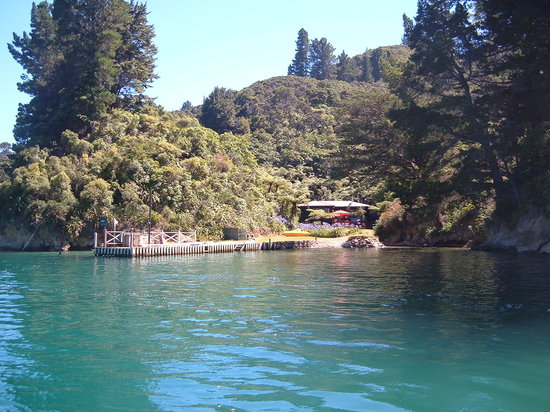 Tawa Cove Lodge/ D B&B: Water veiw