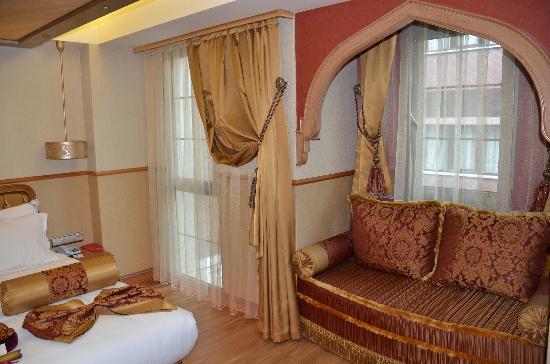 Hotel Sultania: Habitación doble deluxe