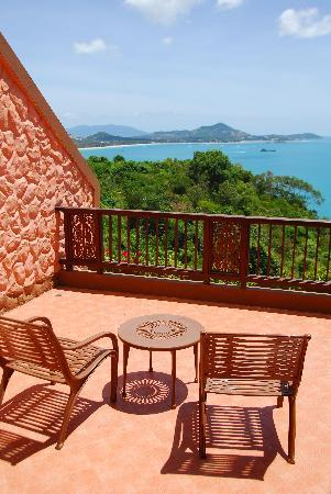 Samui Bayview Resort & Spa: Deluxe Seaview Balcony