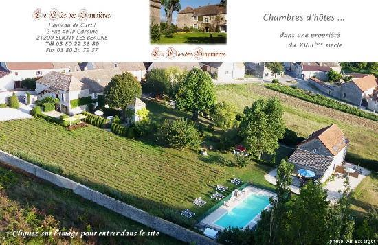 Le Clos des Saunieres : picture have been taken from a balloon